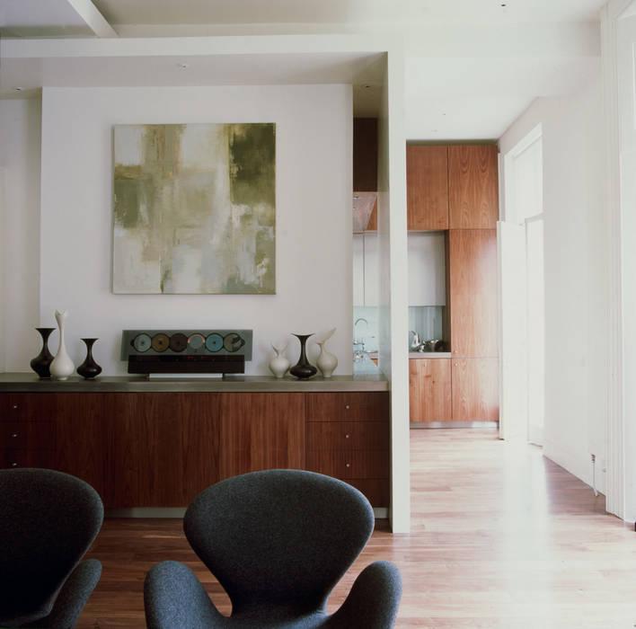 Salon de style  par Jonathan Clark Architects,