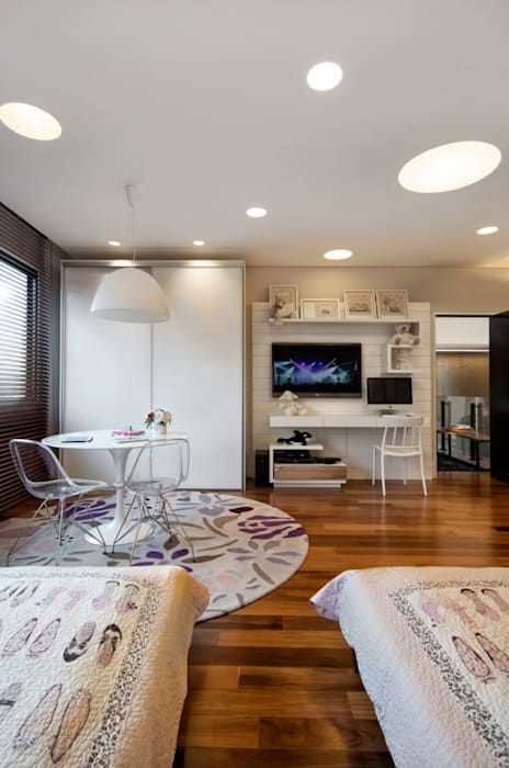 Projeto Casa Moderna - Jorge Elmor Quarto infantil moderno por Elmor Arquitetura Moderno