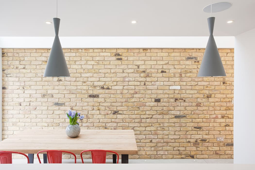 more bricks...:  Walls by Thomas & Spiers Architects