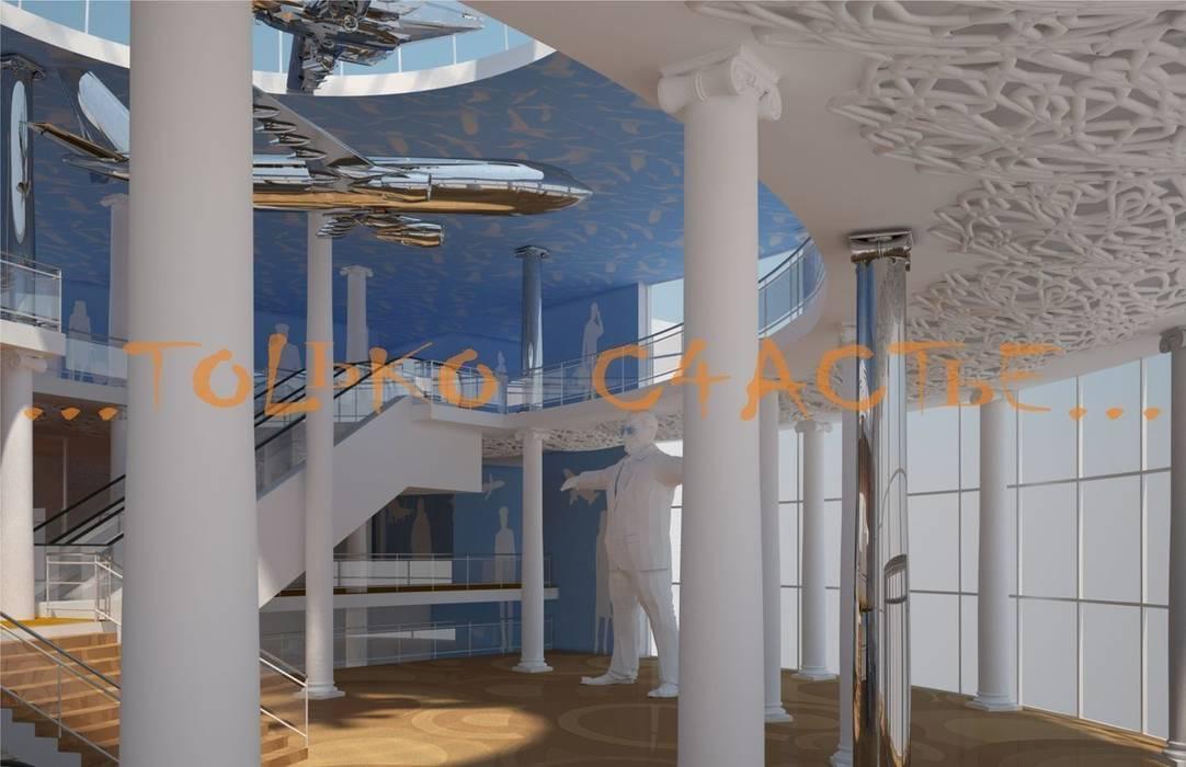 дизайн интерьера Торговые центры в эклектичном стиле от Бюро дизайна 'Только счастье...' Эклектичный