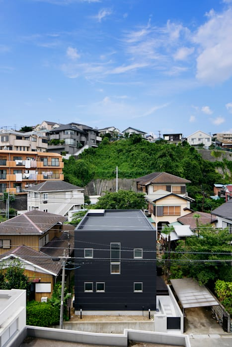 Casas de estilo  por 松岡淳建築設計事務所, Moderno