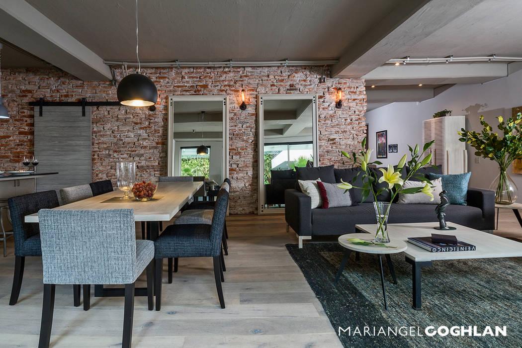 Estancia: Comedores de estilo  por MARIANGEL COGHLAN, Industrial