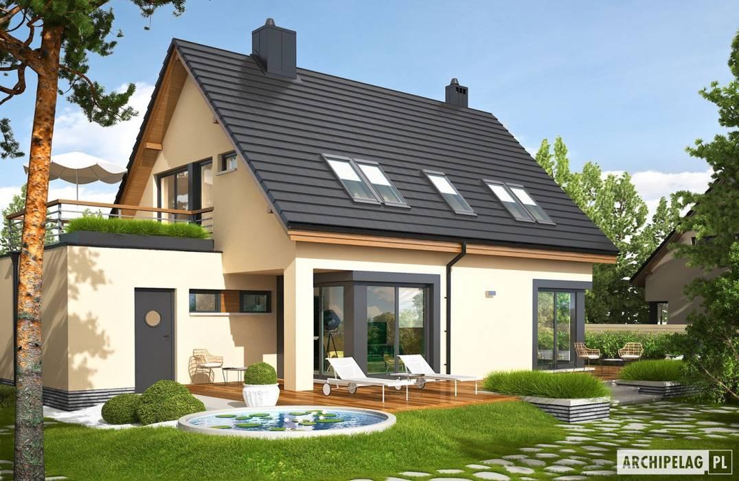 Houses by Pracownia Projektowa ARCHIPELAG, Modern
