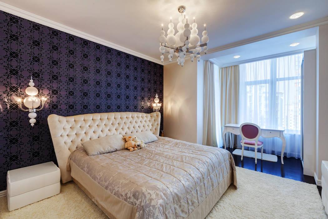 Спальни в . Автор – U-Style design studio, Классический