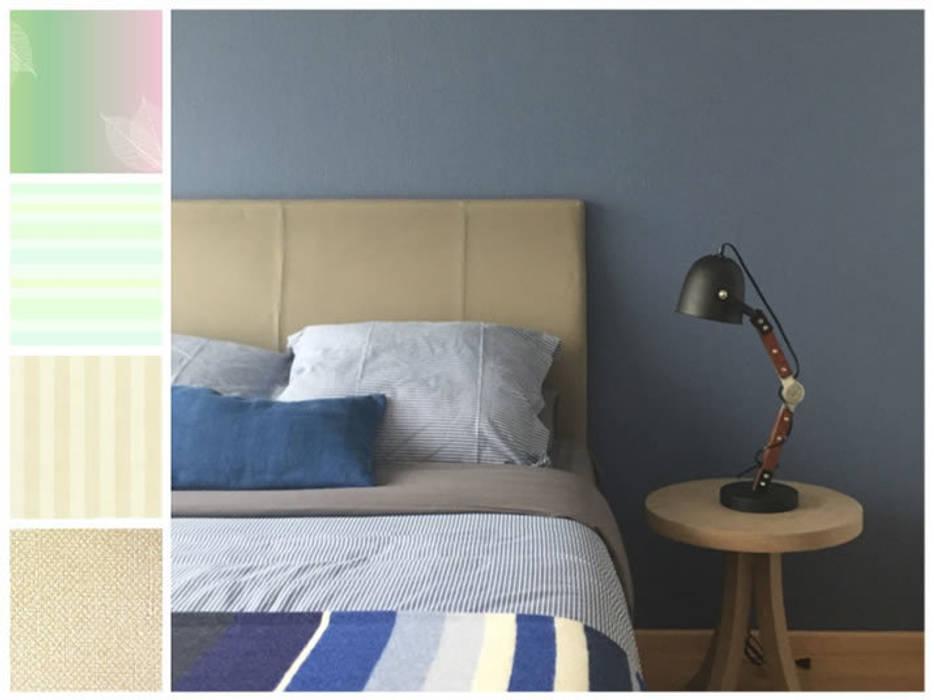 Dormitorios de estilo  por MARIANGEL COGHLAN,