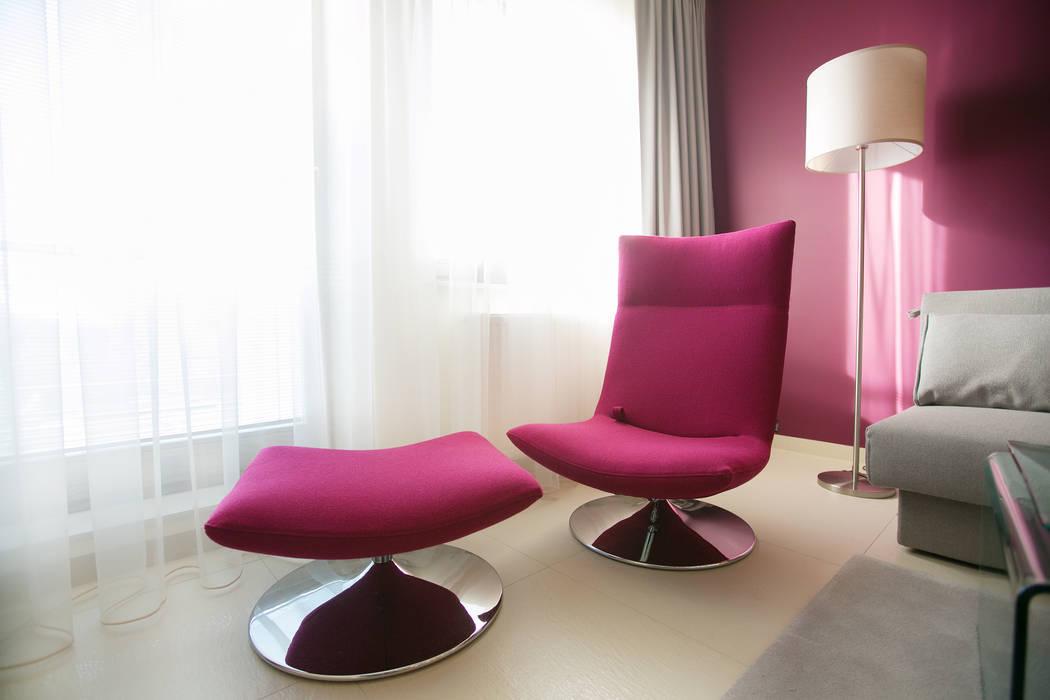 Salas de estilo moderno de Anna Buczny PROJEKTOWANIE WNĘTRZ Moderno