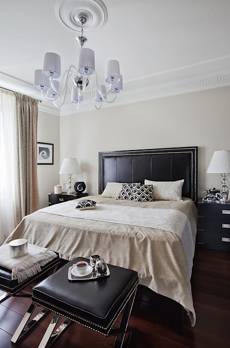 Bedroom. архитектор Виктория Тажетдинова