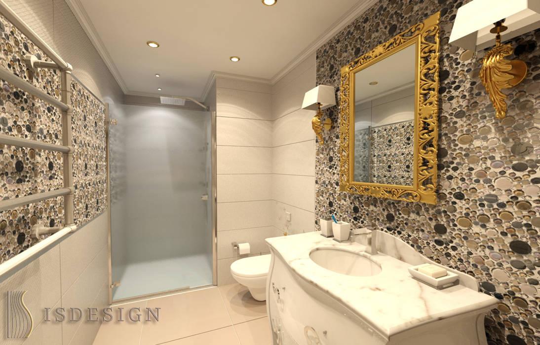 Душевая комната: Ванные комнаты в . Автор – ISDesign group s.r.o.