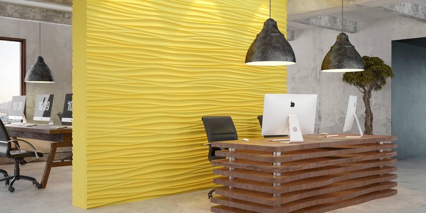 Suny office: Офисы и магазины в . Автор – PRO-DESIGN