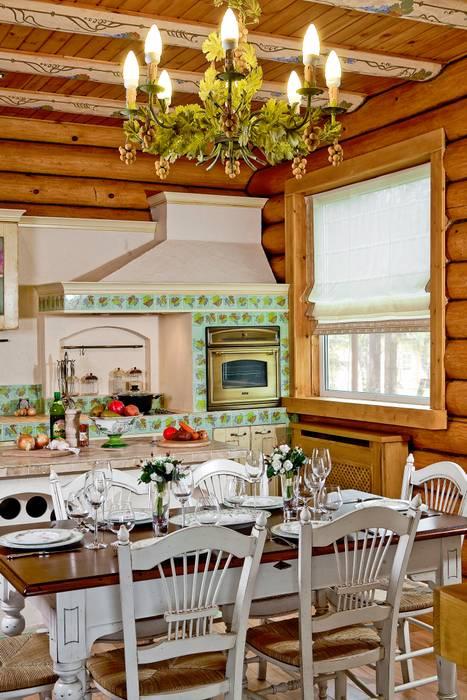 Rustikale Küchen von Amazing Studio Светланы Панариной Rustikal