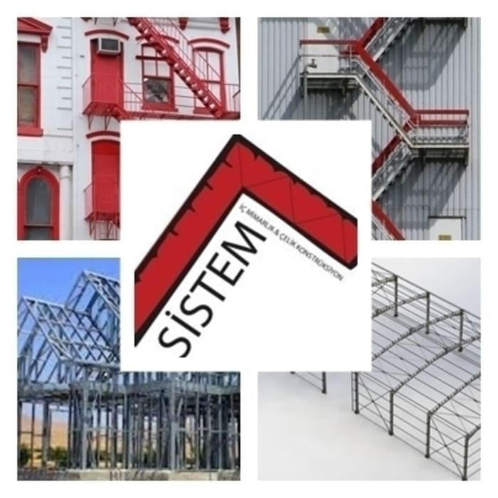 Çelik Konstrüksiyon ve Yangın Merdiveni Sistem Mimarlık & Çelik Konstrüksiyon Akdeniz