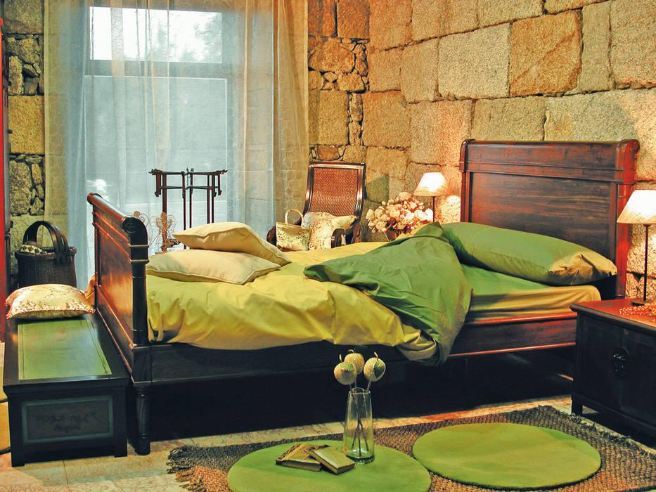 Dormitorio de invitadxs Mow Global Design Dormitorios de estilo asiático