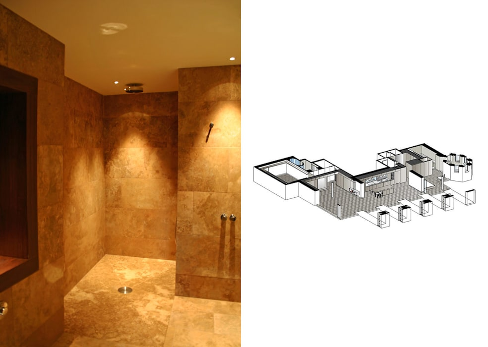 Notting Hill Apartment - 7 Jonathan Clark Architects Modern bathroom