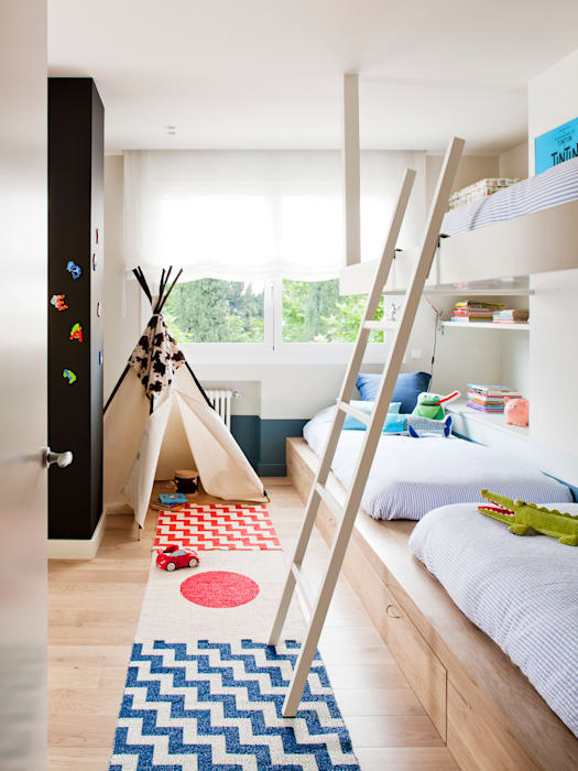 Teen bedroom by A! Emotional living & work, Minimalist