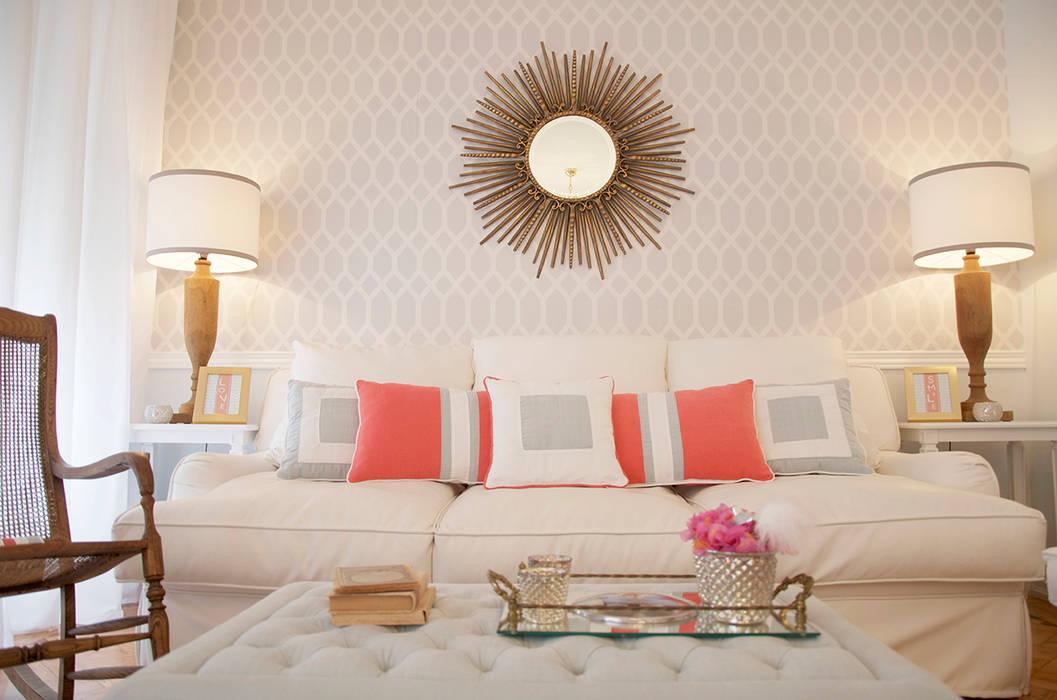 Mediterranean style living room by Catarina Batista Studio Mediterranean