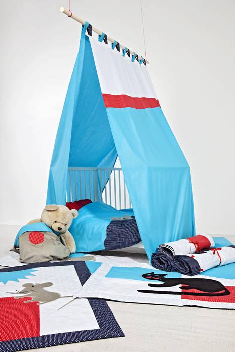 Aranżacja pokoju z matami Skandynawski pokój dziecięcy od Orangeria / Igolo Skandynawski