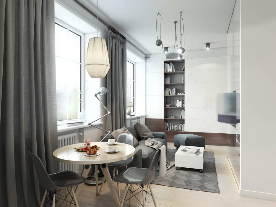 Living room by Entalcev Konstantin