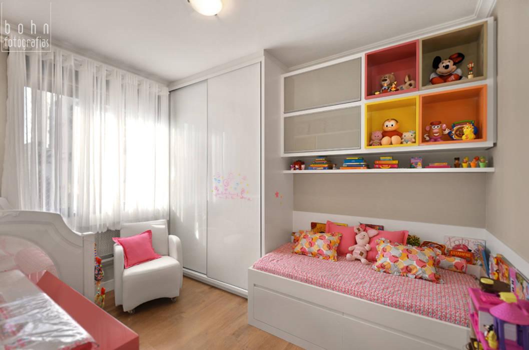 dormitório infantil, quartinho de bebê Quarto infantil moderno por ABHP ARQUITETURA Moderno