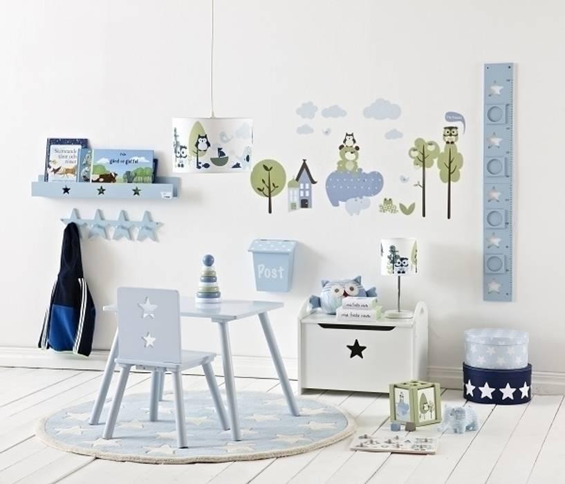 Pokój dziecięcy w stylu skandynawskim - meble i dodatki z kolekcji Niebieskiej marki Kids Concept Skandynawski pokój dziecięcy od Sklep Internetowy Kiddyfave.pl Skandynawski