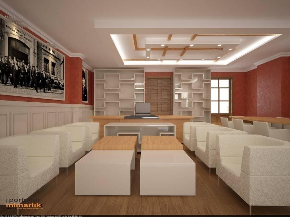 Office spaces & stores  by PORTAKAL MİMARLIK MÜHENDİSLİK İNŞAAT RÖLÖVE VE RESTORASYON,