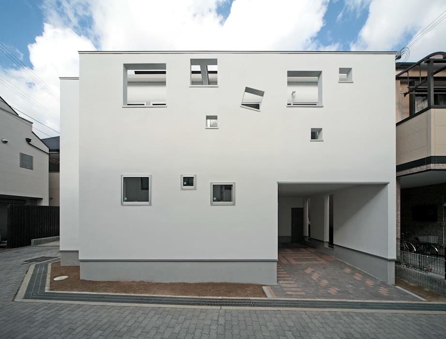 南側外観: 田崎設計室が手掛けた家です。