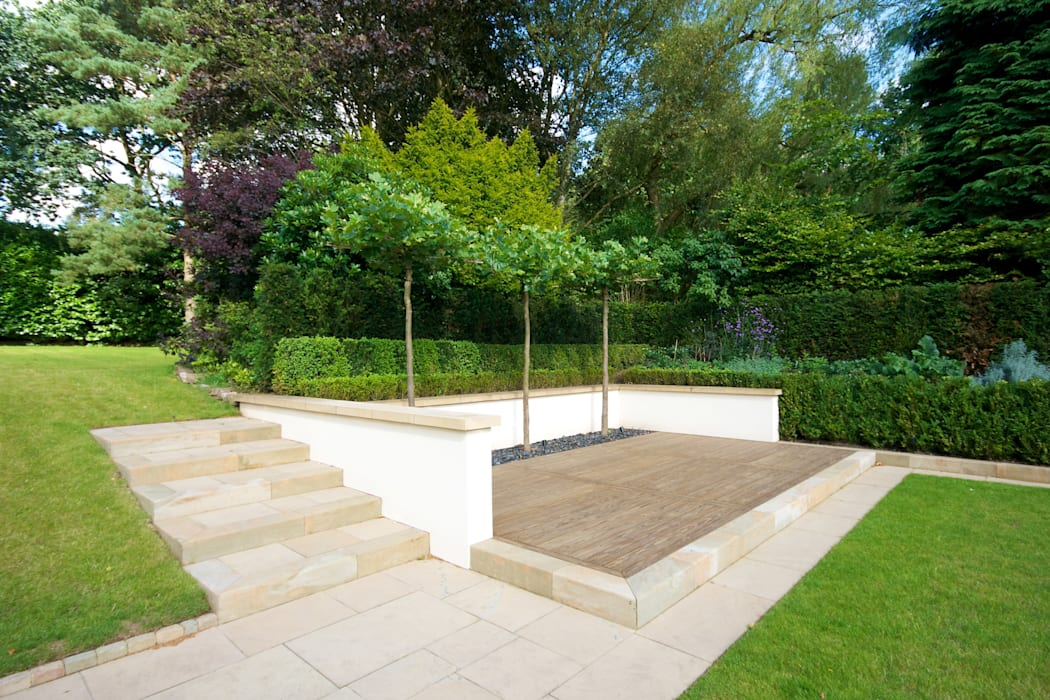 Family Garden, Cheshire by Barnes Walker Ltd