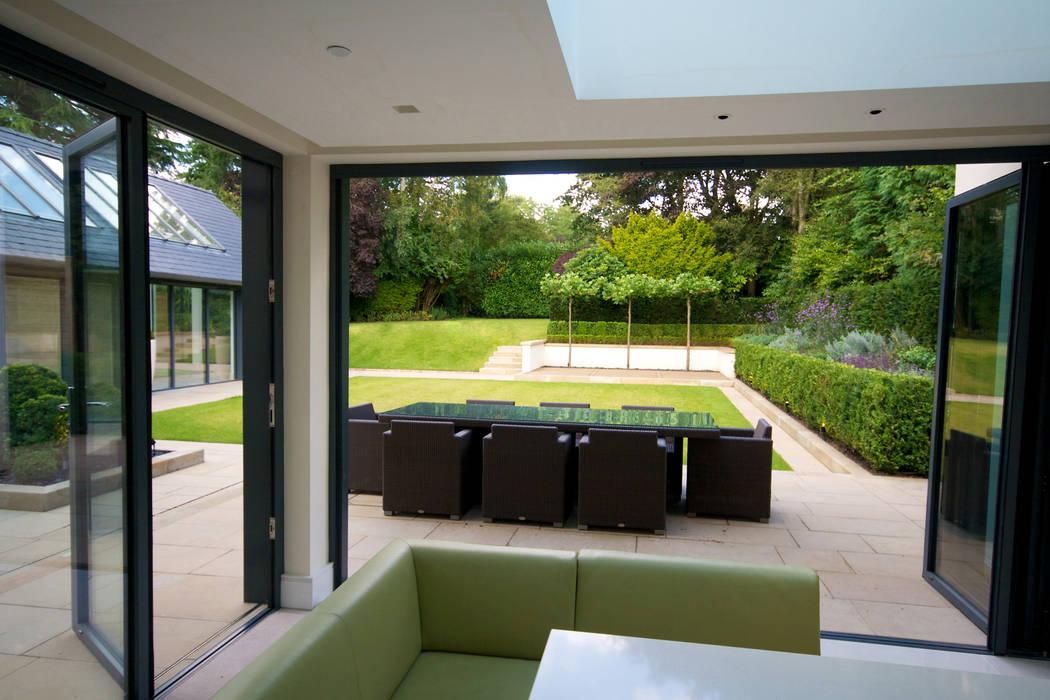 Family Garden, Cheshire par Barnes Walker Ltd
