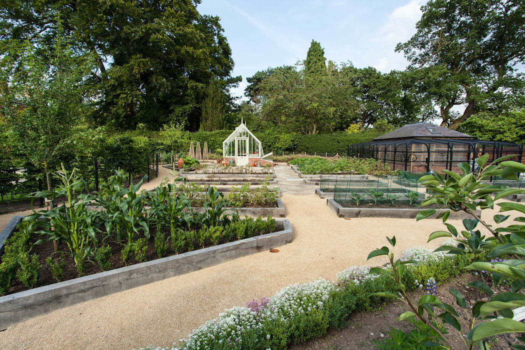 Kitchen Garden, Cheshire by Barnes Walker Ltd