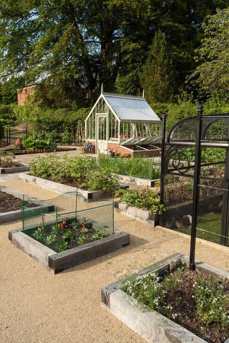 Kitchen Garden, Cheshire par Barnes Walker Ltd