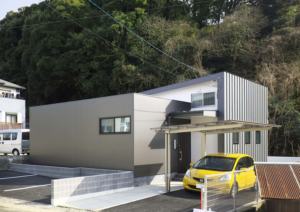 Houses by 那波建築設計 NABA architects, Modern