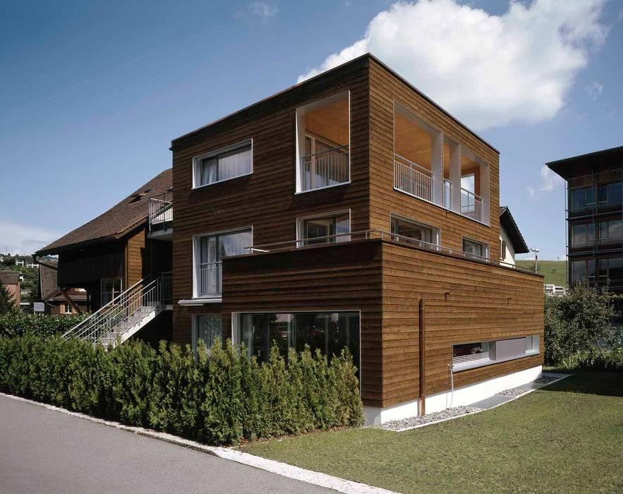 Дома в эклектичном стиле от hwp ARCHITEKTEN AG Эклектичный