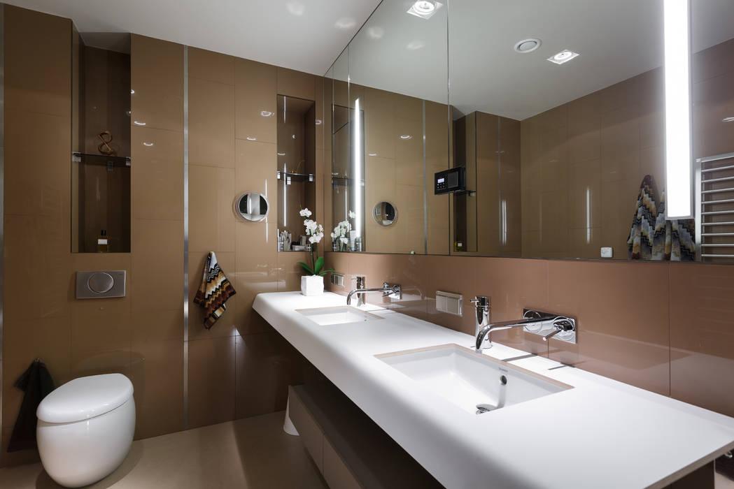 Ванная комната: Ванные комнаты в . Автор – (DZ)M Интеллектуальный Дизайн,