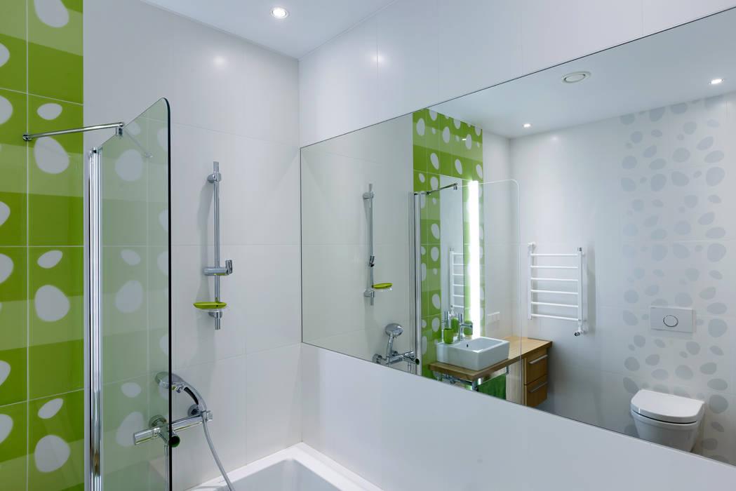 Ванная комната при детской: Ванные комнаты в . Автор – (DZ)M