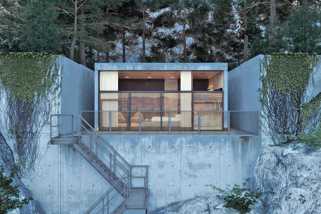 IGOR SIROTOV ARCHITECTS Casas de estilo minimalista