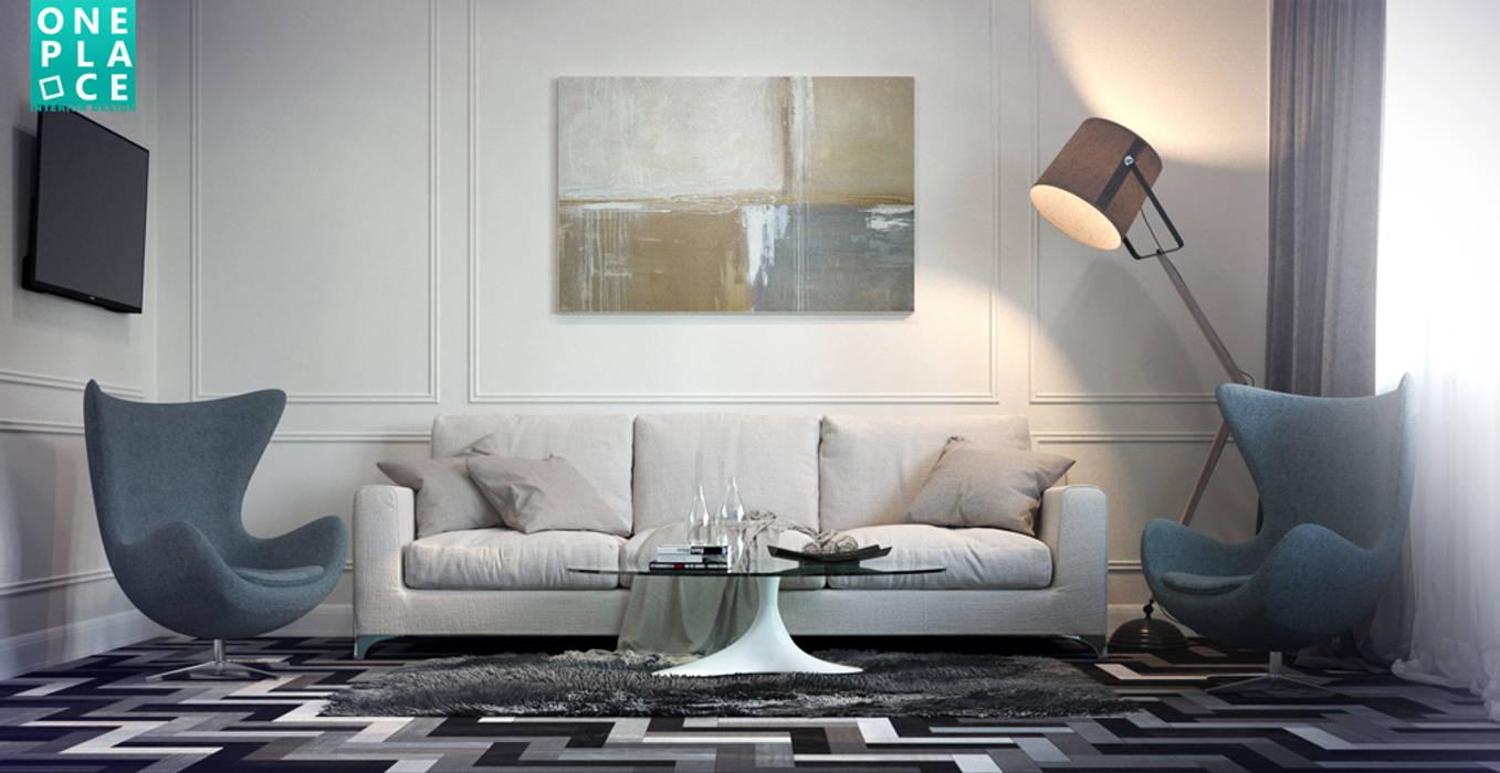 Salones de estilo ecléctico de OnePlace studio interior design Ecléctico