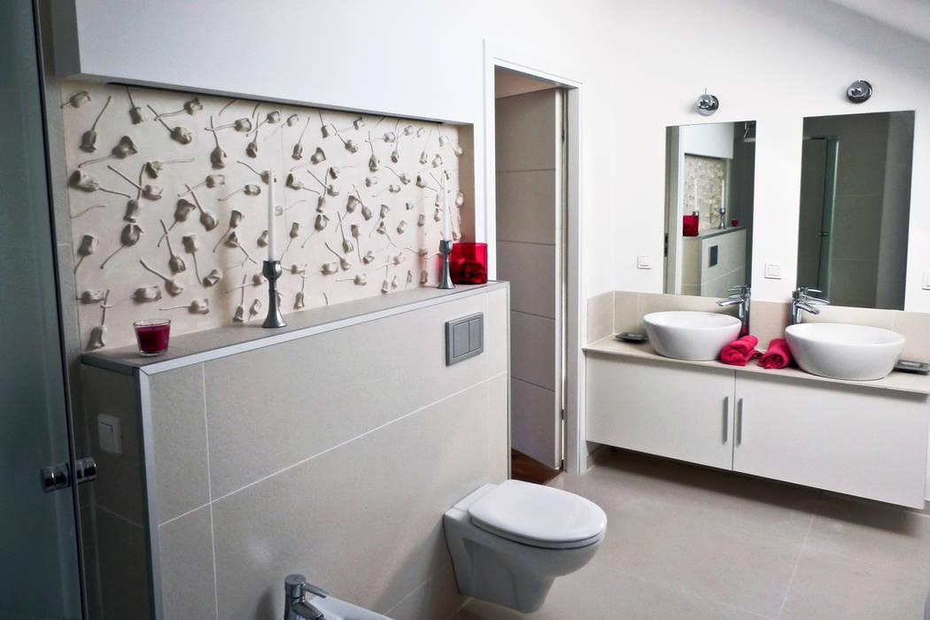 Motto Wandpaneele Im Bad Rose Badezimmer Von Loft Design System