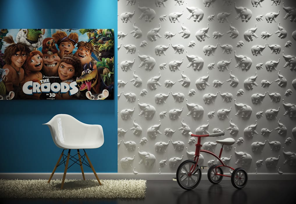 3d Wandpaneele Babyzimmer Von Loft Design System Deutschland