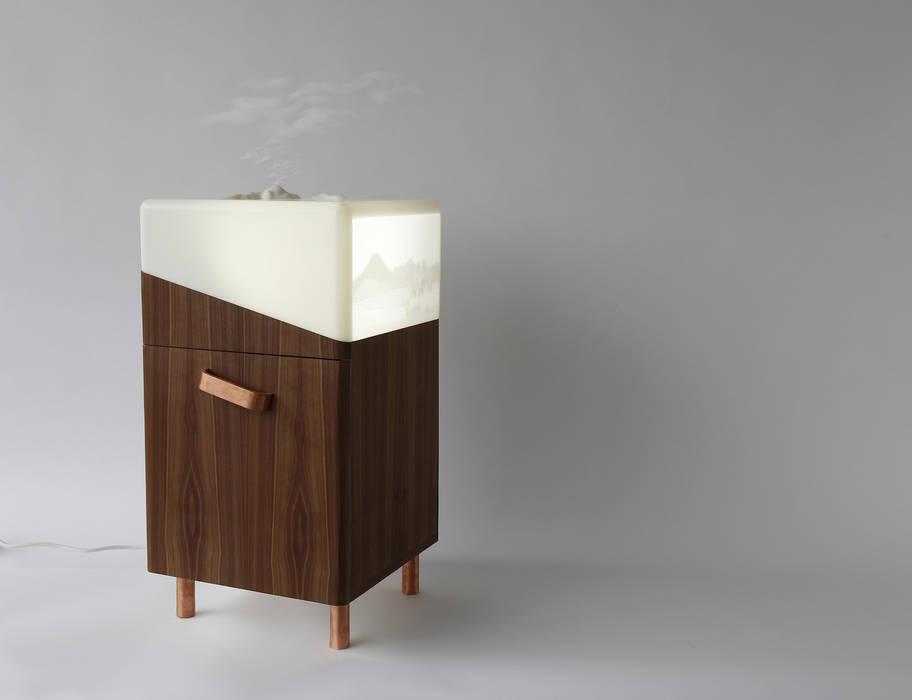 Jardin d'Hiver - table de chevet pour relaxation par Géraldine Biard Scandinave