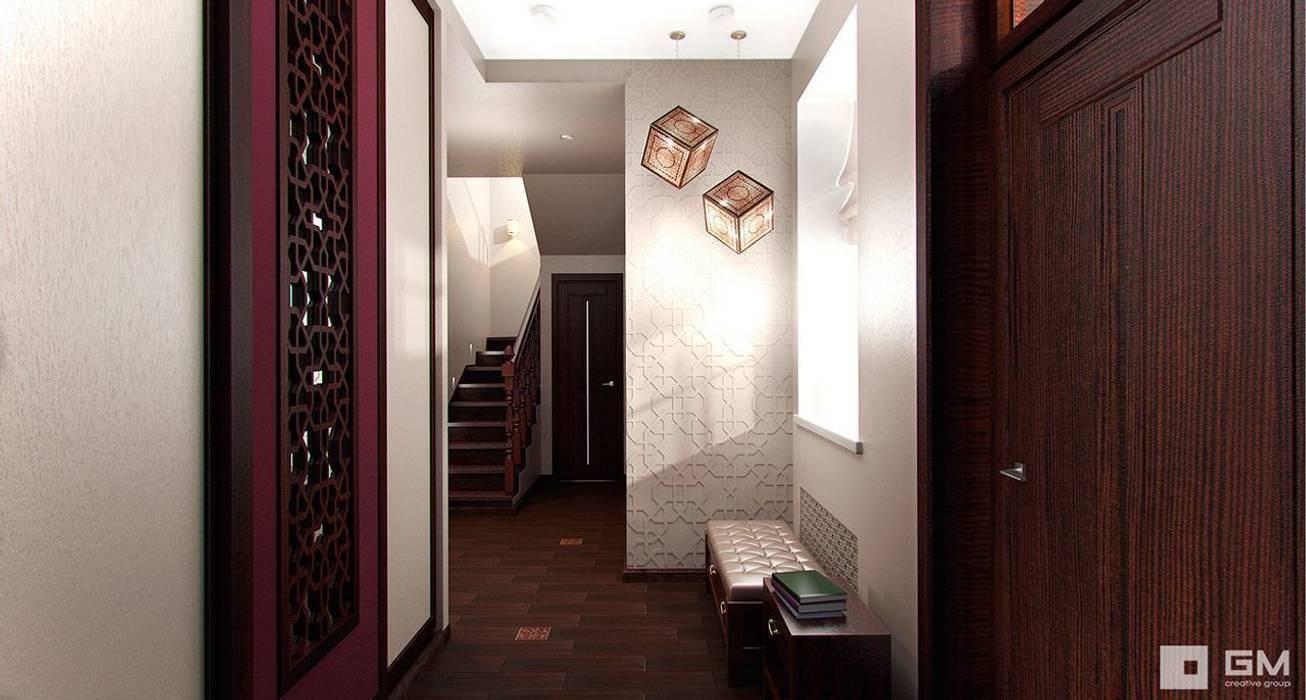 GM-interior Couloir, entrée, escaliers originaux