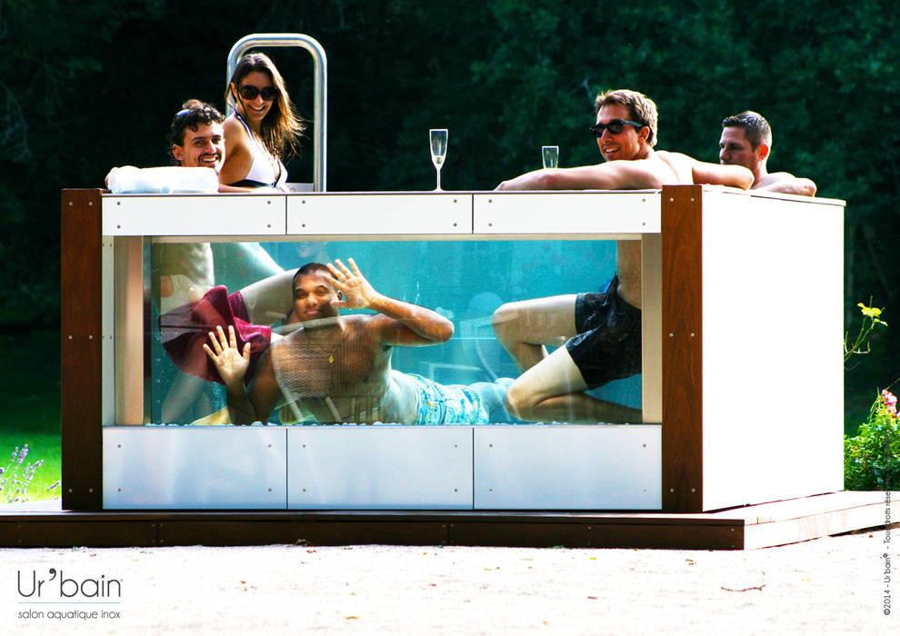 un moment de détente avec vous amis, votre famille:  de style  par Ur-bain, Moderne