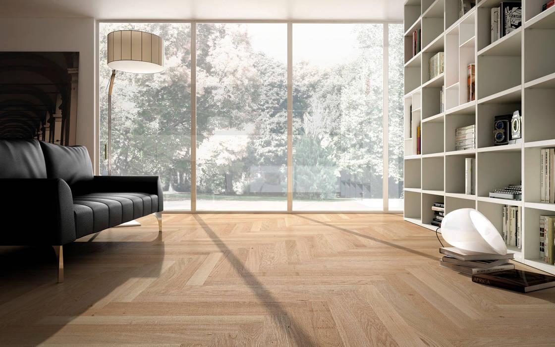 Moderne Wände & Böden von Timberplan Modern