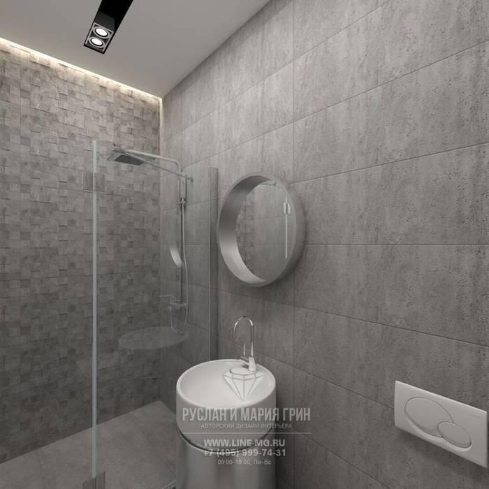 Фото интерьера санузла в стиле лофт Ванная в стиле лофт от Студия дизайна интерьера Руслана и Марии Грин Лофт