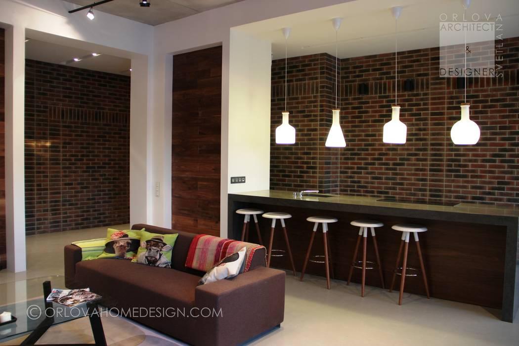 Cocinas de estilo  por Orlova Home Design, Industrial