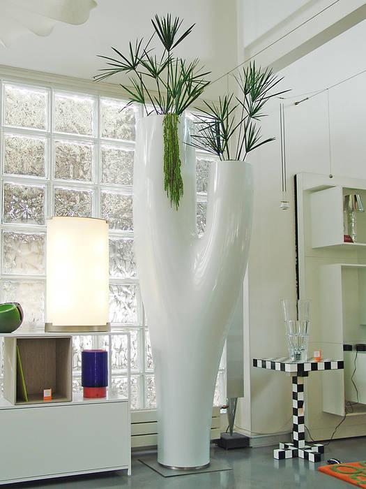 Design végétal Adventive Couloir, entrée, escaliersAccessoires & décorations Blanc