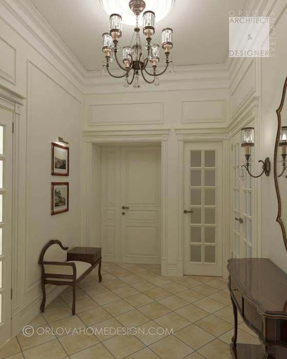 Квартира в Санкт-Петербурге: Коридор и прихожая в . Автор – Orlova Home Design, Классический