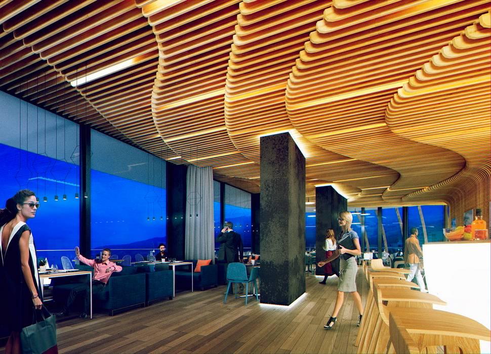 ГУРЗУФ РИВЬЕРА: Ресторации в . Автор – 8d-architects