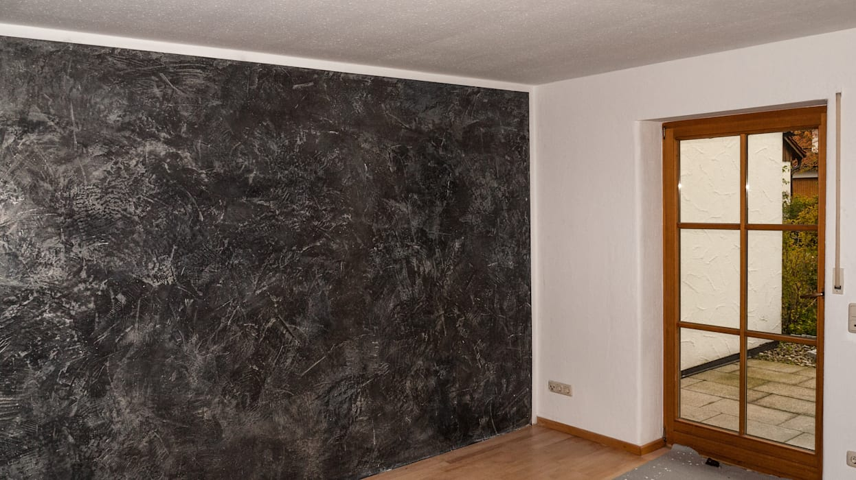 Betonoptikspachtel Und Marmorputz Wände Von Malerbetrieb Maleroy