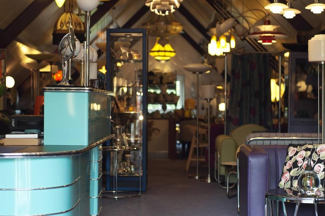 Showroom van Art Deco Webwinkel:  Winkelruimten door De blauwe Deel Webwinkels