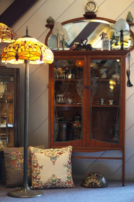 Art Nouveau hoek:  Winkelruimten door De blauwe Deel Webwinkels