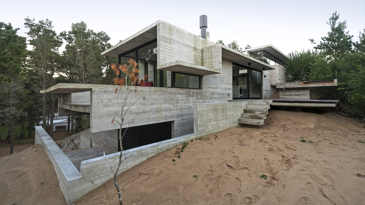 Rumah oleh Besonías Almeida arquitectos, Modern